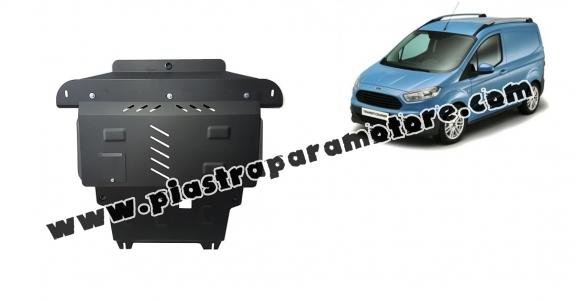 Piastra paramotore di acciaio Ford Transit Courier